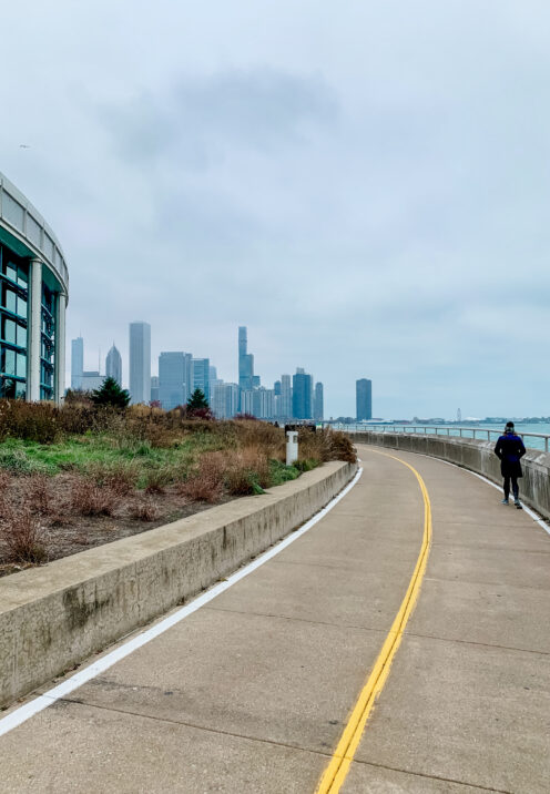 A WINTER WALK IN CHICAGO | Lake Michigan | Lakefront Trail | www.AfterOrangeCounty.com