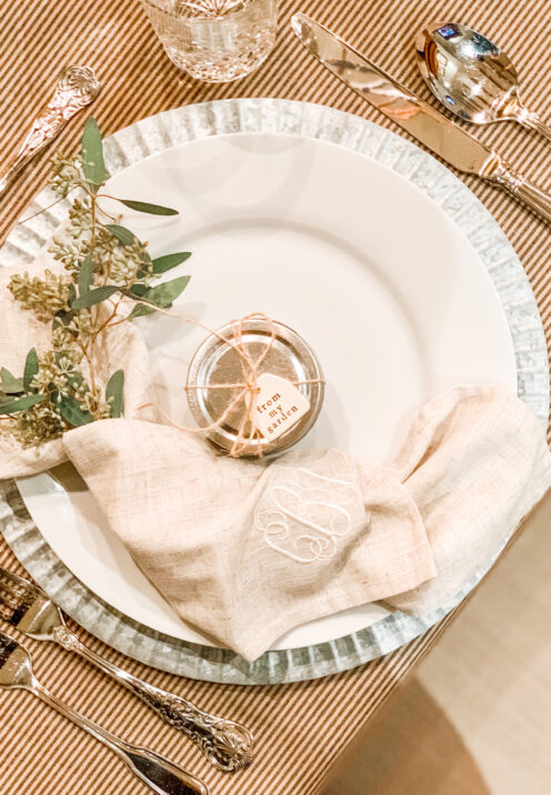 SUNDAYS WITH CELIA VOL 97 | Friendsgiving Tablescape | www.AfterOrangeCounty.com #PartyFavor #Thanksgiving #Friendsgiving #Tablescape