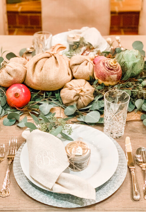 SUNDAYS WITH CELIA VOL 97 | Friendsgiving Tablescape | www.AfterOrangeCounty.com