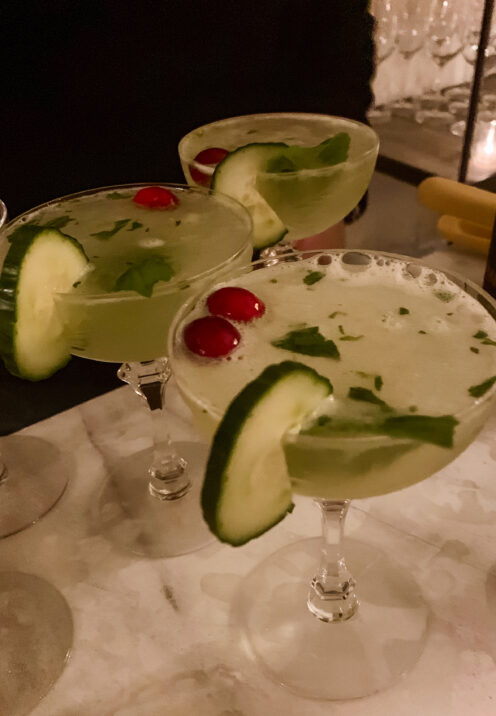 SUNDAYS WITH CELIA VOL 98 | Thanksgiving in DC | Cucumber-Mint Martini | www.AfterOrangeCounty.com #CucumberMintMartini