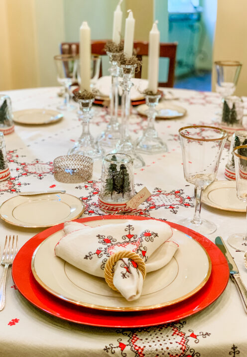 SUNDAYS WITH CELIA VOL 99 | Christmas Tablescape | www.AfterOrangeCounty.com #ChristmasTablescape