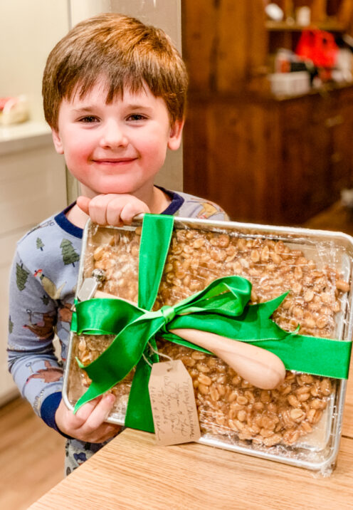 SUNDAYS WITH CELIA VOL 99   Love You To Pieces Peanut Brittle   www.AfterOrangeCounty.com #Christmas #PeanutBrittle