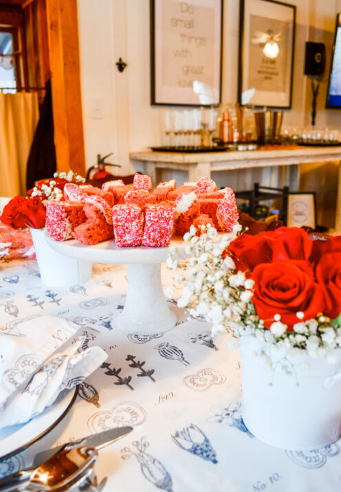 SUNDAYS WITH CELIA VOL 101 | www.AfterOrangeCounty.com | #Valentines Day #RedRoses #RiceKrispyTreats