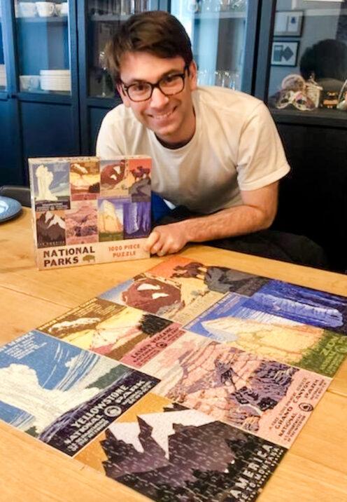 SUNDAYS WITH CELIA VOL 103 | Pandemic Puzzle Making | www.AfterOrangeCounty.com