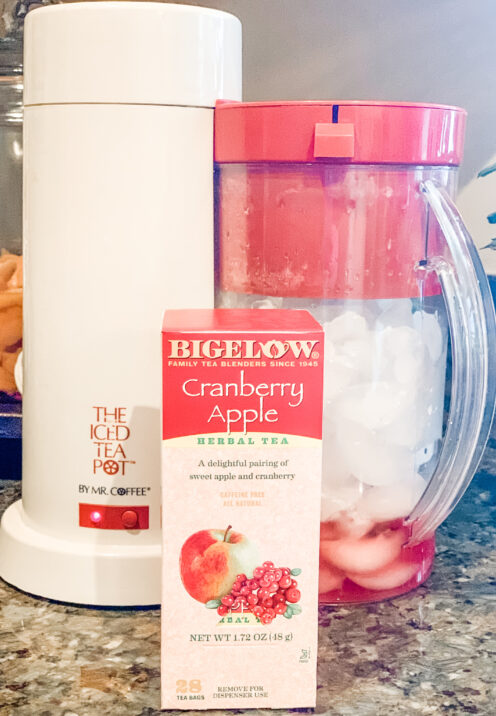 SUNDAYS WITH CELIA VOL 103 | Quarantine Cooking | Homemade Iced Tea | www.AfterOrangeCounty.com #IcedTea #MrCoffeeIcedTeaMaker #Bigelow