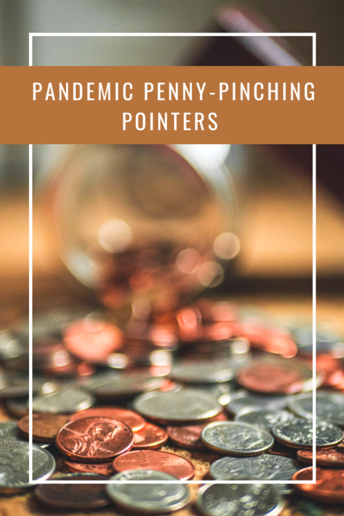 PANDEMIC PENNY-PINCHING POINTERS | How To Save Money in These Uncertain Economic Times | Coronavirus | www.AfterOrangeCounty.com | #MoneyTips #Pandemic