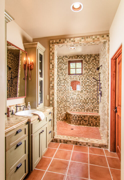 SUNDAYS WITH CELIA VOL 104 | Lake Arrowhead House For Sale | Master Bath | www.AfterOrangeCounty.com #Lake Arrowhead #HouseForSale #Lake ArrowheadRealEstate