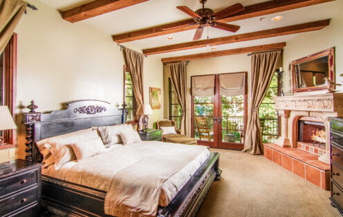 SUNDAYS WITH CELIA VOL 104 | Lake Arrowhead House For Sale | Master Bedroom | www.AfterOrangeCounty.com #Lake Arrowhead #HouseForSale #Lake ArrowheadRealEstate