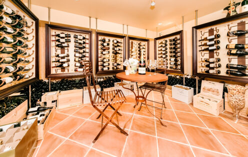 SUNDAYS WITH CELIA VOL 104 | Lake Arrowhead House For Sale | Wine Cellar | www.AfterOrangeCounty.com #Lake Arrowhead #HouseForSale #Lake ArrowheadRealEstate #WineCellar