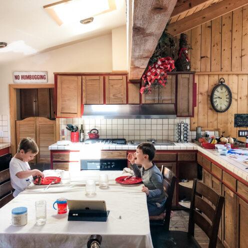 THE COTTAGE ON CATALINA KITCHEN REVEAL | The BEFORE | www.AfterOrangeCounty | #Kitchen #KitchenRenovation #BigBearLakeCottage #IKEAKitchen