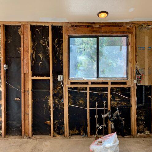 THE COTTAGE ON CATALINA KITCHEN REVEAL | Demolition | www.AfterOrangeCounty | #Kitchen #KitchenRenovation #BigBearLakeCottage #IKEAKitchen