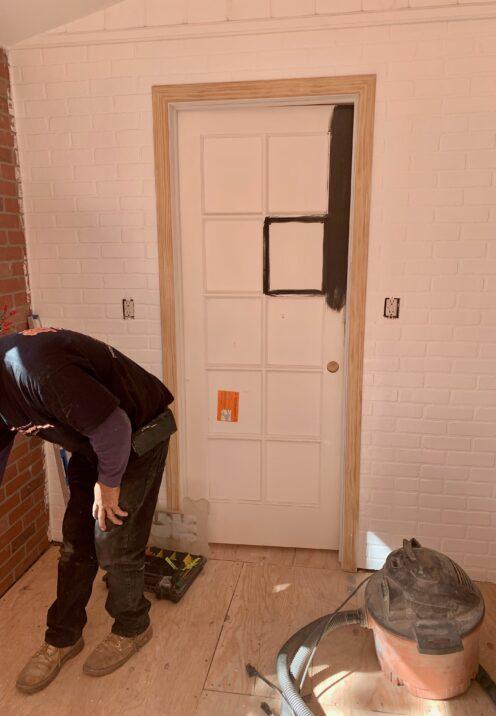 THE COTTAGE ON CATALINA KITCHEN REVEAL | www.AfterOrangeCounty | #Kitchen #KitchenRenovation #BigBearLakeCottage #HomeDepot #BehrPaint
