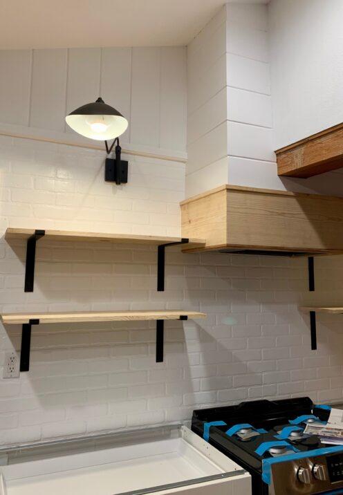 THE COTTAGE ON CATALINA KITCHEN REVEAL | www.AfterOrangeCounty | #Kitchen #Modway #ProlineRangeHoods #KitchenRenovation #BigBearLakeCottage