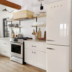 THE COTTAGE ON CATALINA KITCHEN REVEAL PART 2 | www.AfterOrangeCounty | #Kitchen #ProlineRangeHoods #SMEG #H&MHome #WorldMarket #WestElm #KitchenRenovation #BigBearLakeCottage