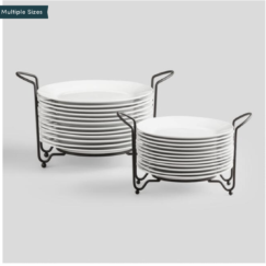 THE COTTAGE ON CATALINA KITCHEN REVEAL PART 2 | Porcelain Plates Sets With Space-Saving Racks | www.AfterOrangeCounty | #Kitchen #WorldMarket #PorcelainPlates #KitchenRenovation #BigBearLakeCottage