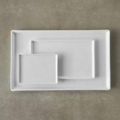 THE COTTAGE ON CATALINA KITCHEN REVEAL PART 2 | www.AfterOrangeCounty | #Kitchen | 3 Sizes Cuatro Platters | #CuatroPorcelainPlatter #CB2