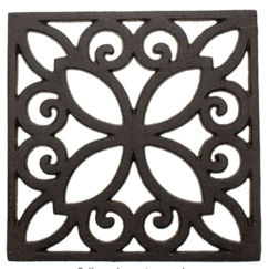 THE COTTAGE ON CATALINA KITCHEN REVEAL PART 2 | www.AfterOrangeCounty | Black Metal Trivet | #Kitchen #MetalTrivet #KitchenDesign #KitchenRenovation #BigBearLakeCottage